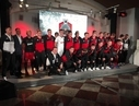 Performance at the presentation of the football club Kazanka (Lokomotiv)
